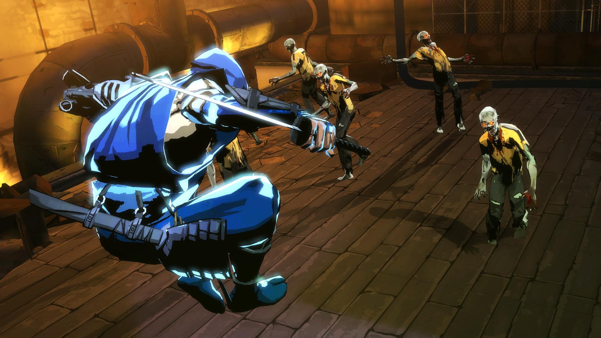 NINJA GAIDEN fantasy anime warrior weapon sword battle dark zombie d    Ninja Weapons Wallpaper