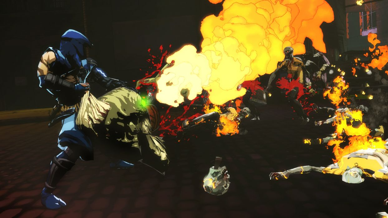 NINJA GAIDEN fantasy anime warrior weapon sword battle dark zombie f wallpaper
