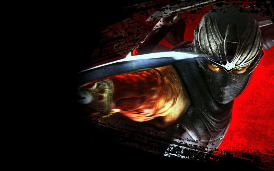 NINJA GAIDEN fantasy anime warrior weapon sword blood          g wallpaper