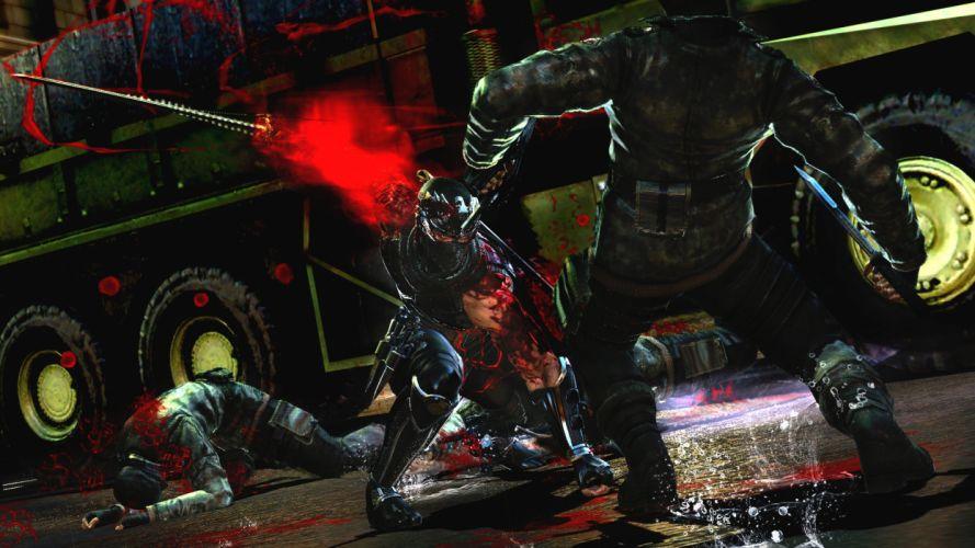 NINJA GAIDEN fantasy anime warrior weapon sword blood battle h wallpaper