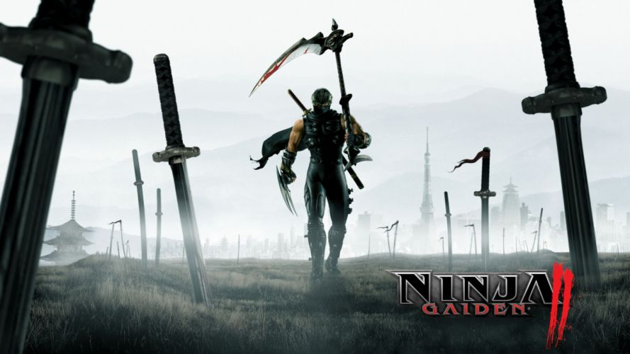 NINJA GAIDEN fantasy anime warrior weapon sword poster h wallpaper