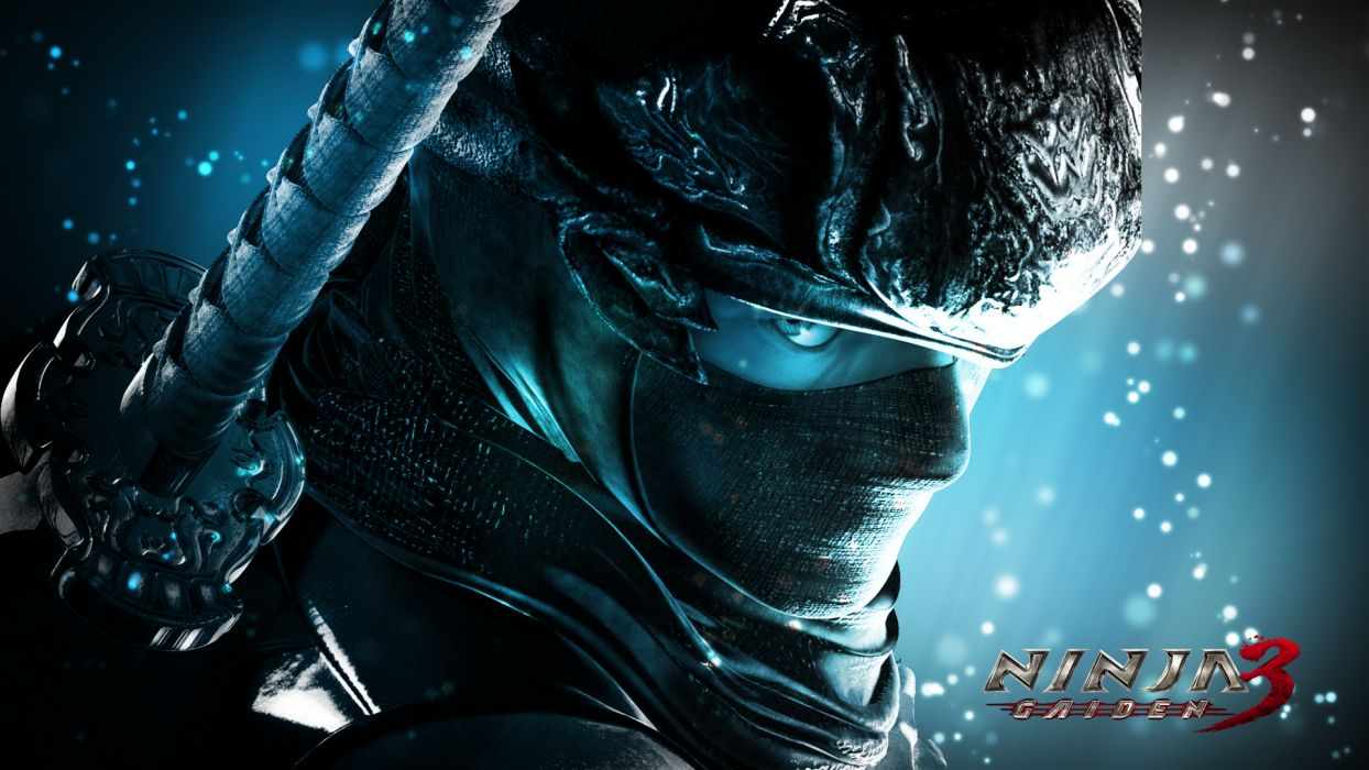 NINJA GAIDEN fantasy anime warrior weapon sword poster    f wallpaper