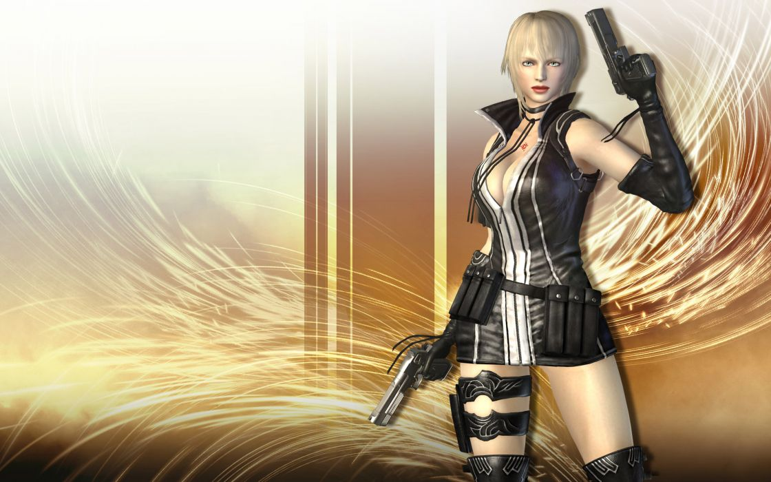 NINJA GAIDEN fantasy anime warrior weapon sword sexy babe weapon gun     g wallpaper