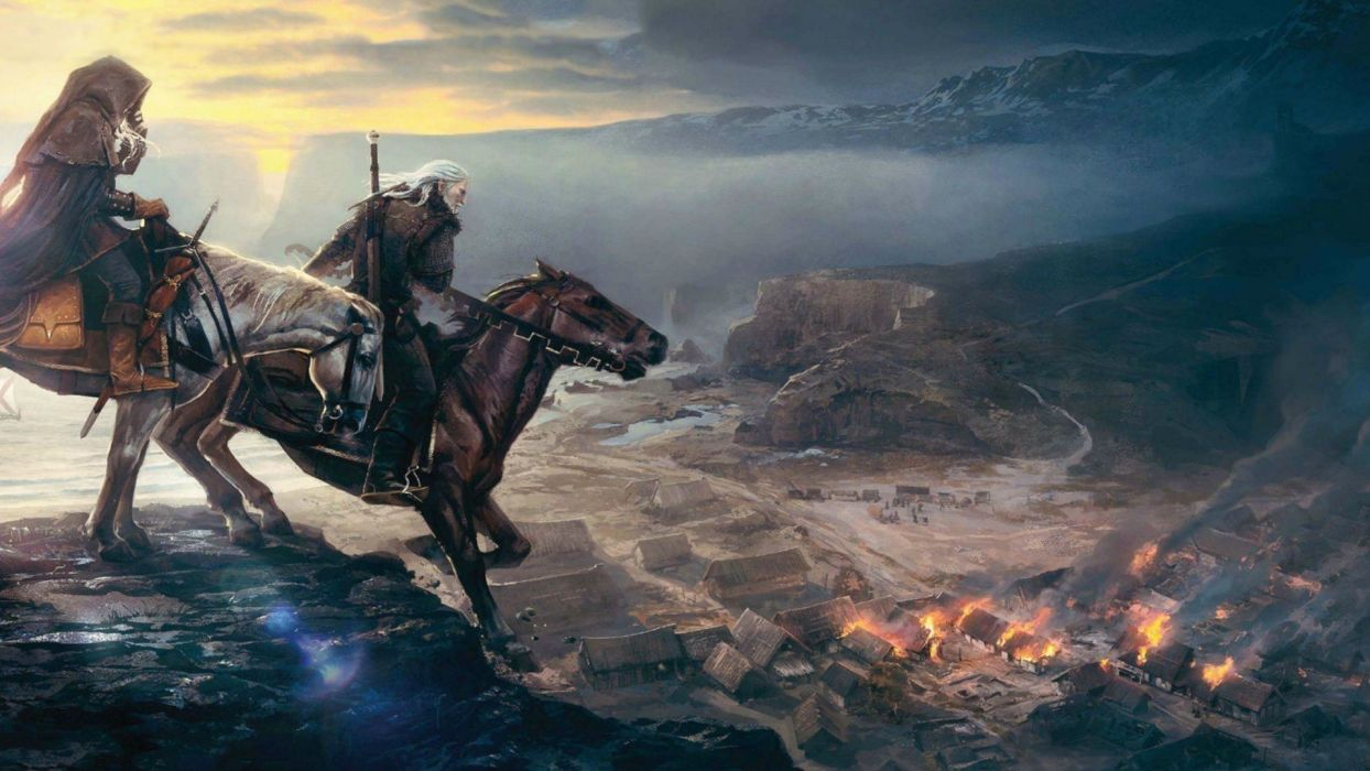 video games The Witcher hunt wild The Witcher 3: Wild Hunt wallpaper