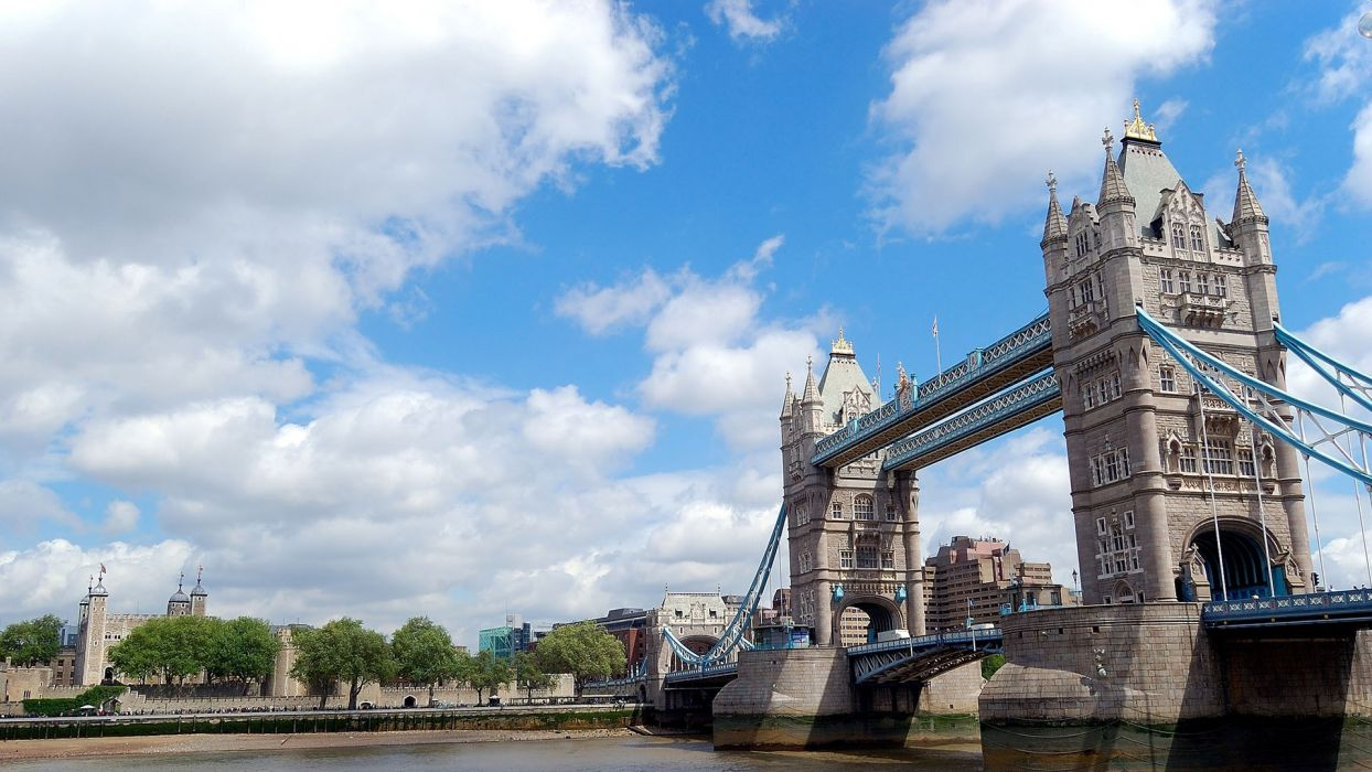 architecture London buildings Tower Bridge cities wallpaper