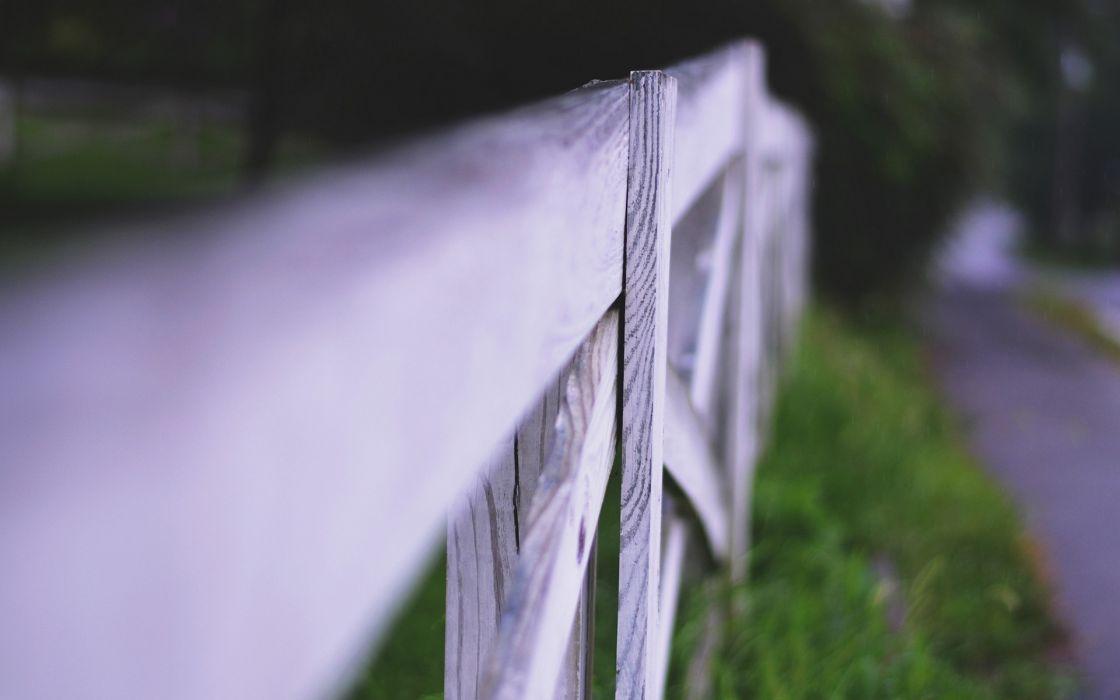fences depth of field wooden fence wallpaper