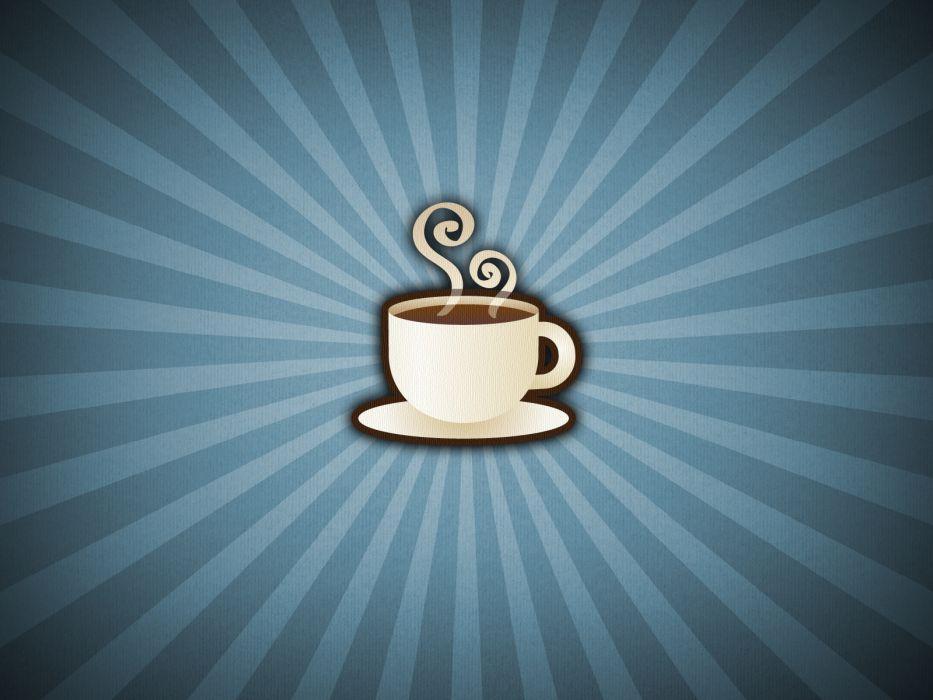 coffee artwork wallpaper