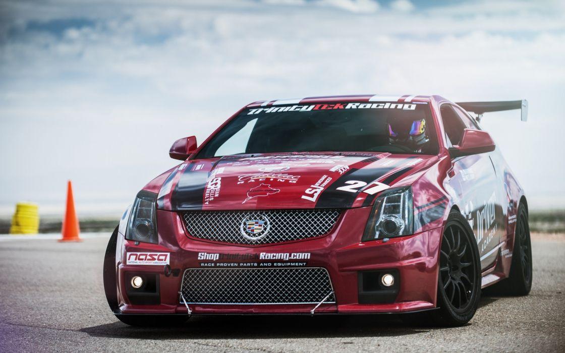 cars Cadillac CTS-V wallpaper