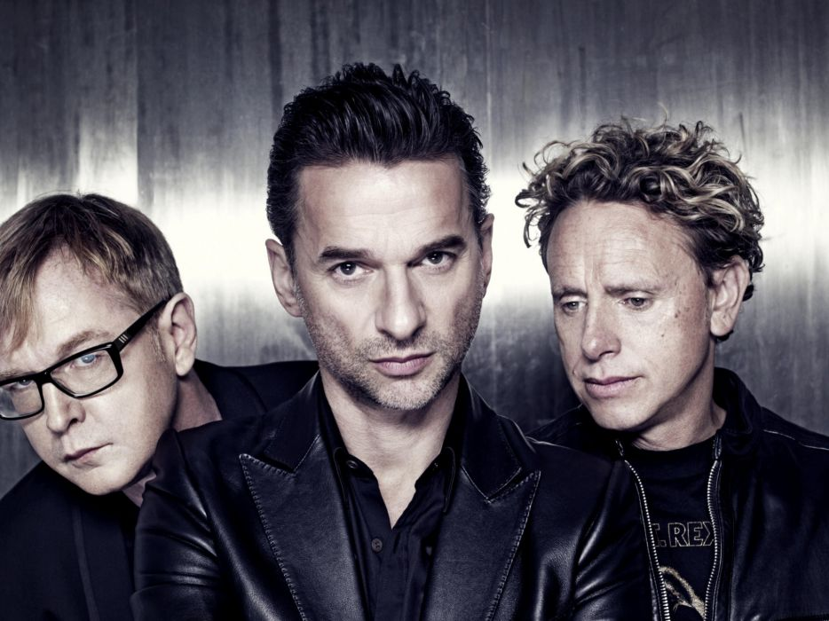men Depeche Mode music bands wallpaper