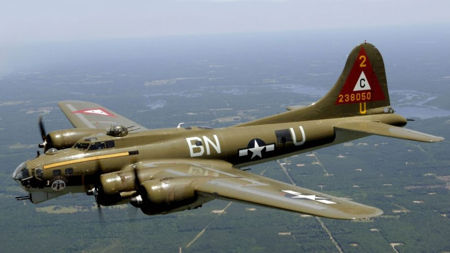 airplanes bomber b17 wallpaper