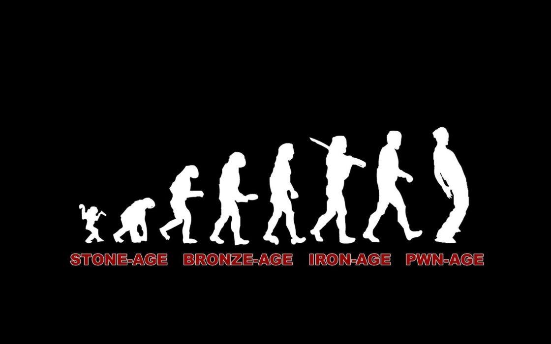 funny evolution devolution wallpaper