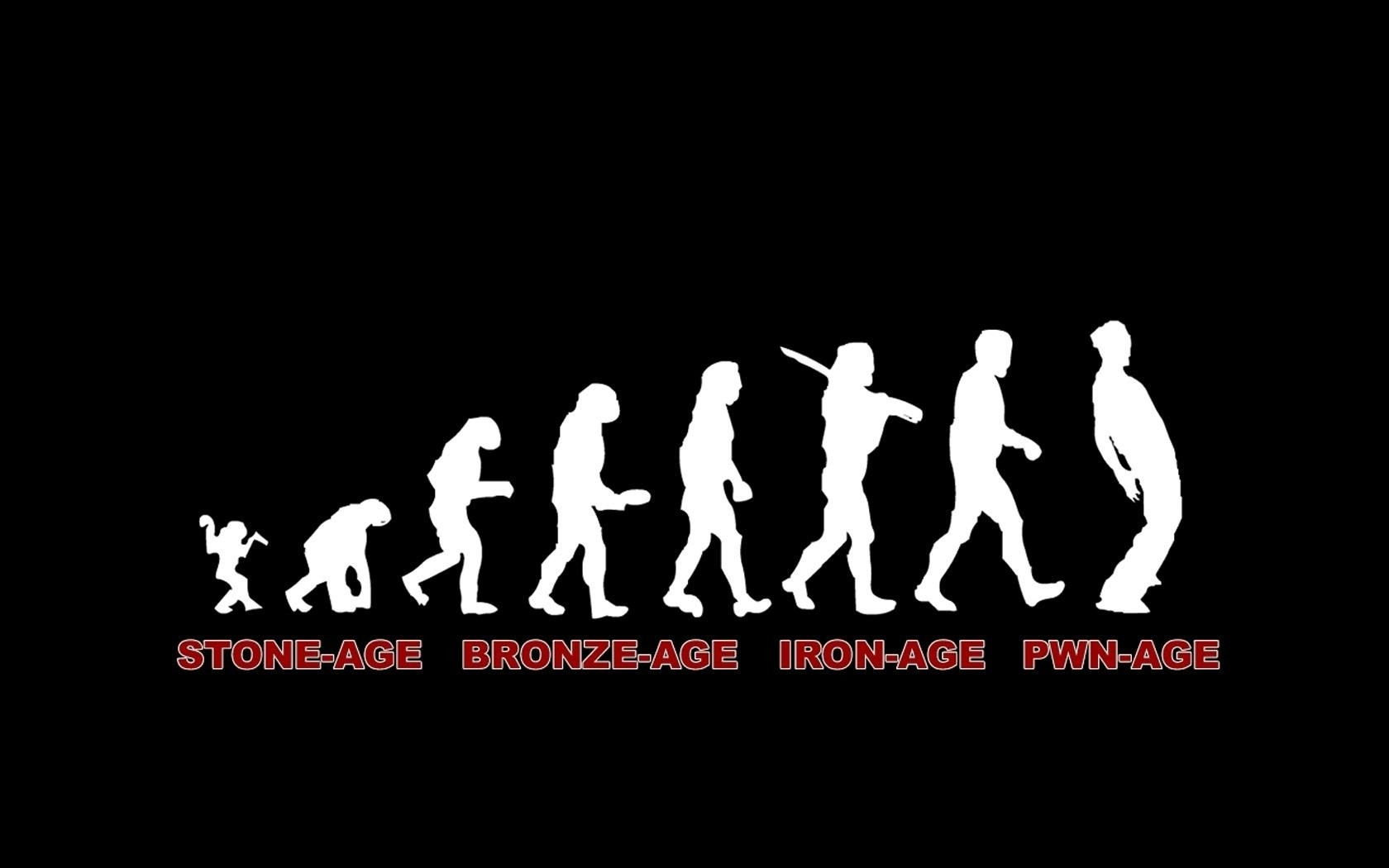 Love Jokes With Wallpaper : Funny evolution devolution wallpaper 1680x1050 212812 WallpaperUP