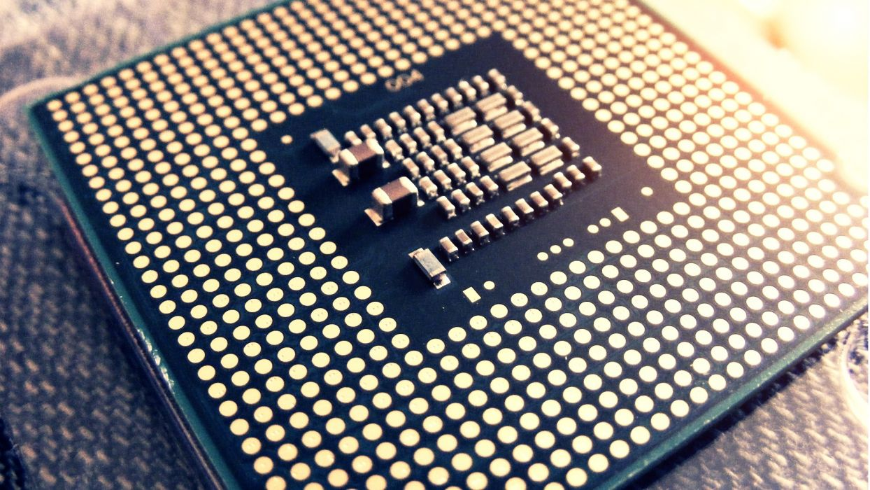 chip Intel CPU wallpaper