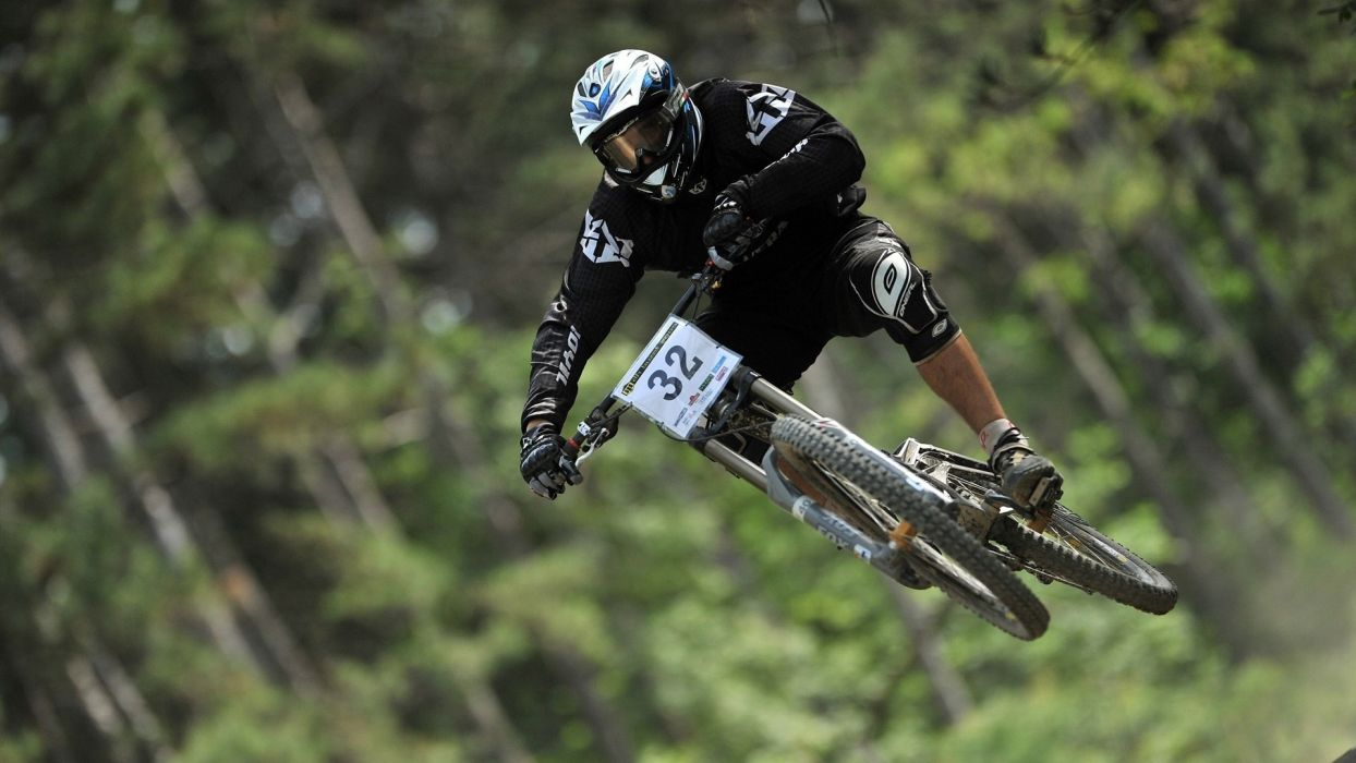 bike bicycles sports racer downhill Olympics 2012 wallpaper