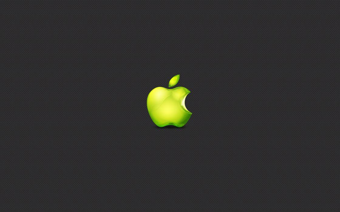 Apple Inc_ logos wallpaper