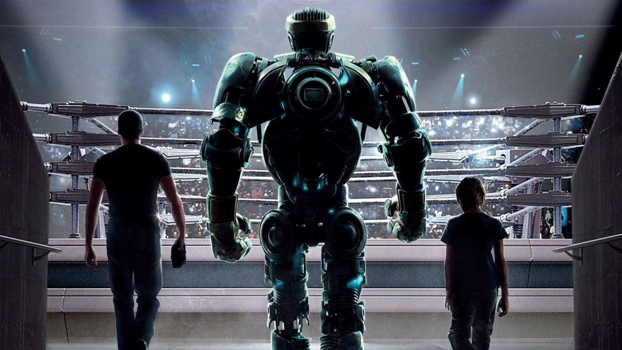 movies Hollywood Real Steel wallpaper