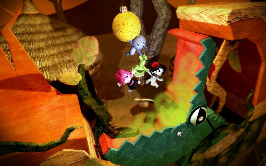 cartoons video games Little Big Planet wallpaper