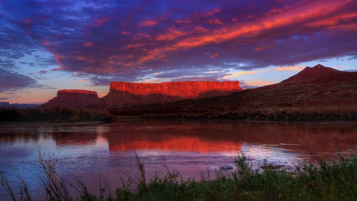 landscapes Utah wallpaper