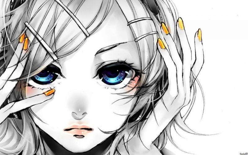 Vocaloid Kagamine Rin Migikata no Chou wallpaper