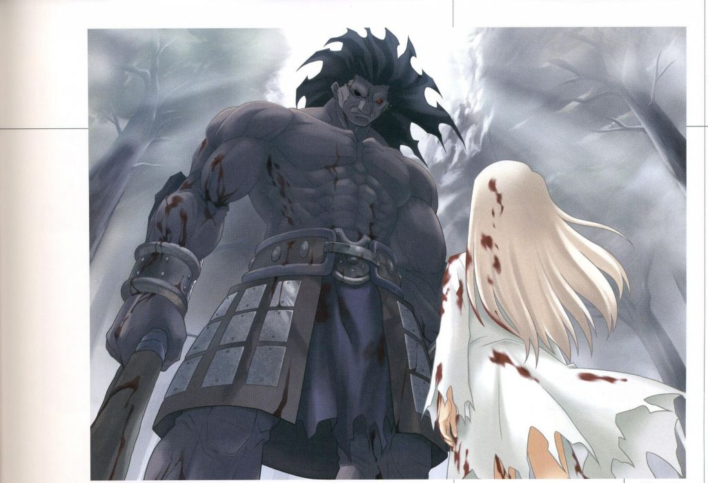 Fate/Stay Night Concept Art Artwork Characters Anime
