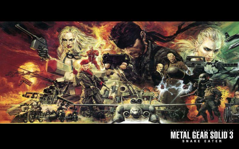 Metal Gear Solid Solid Snake wallpaper