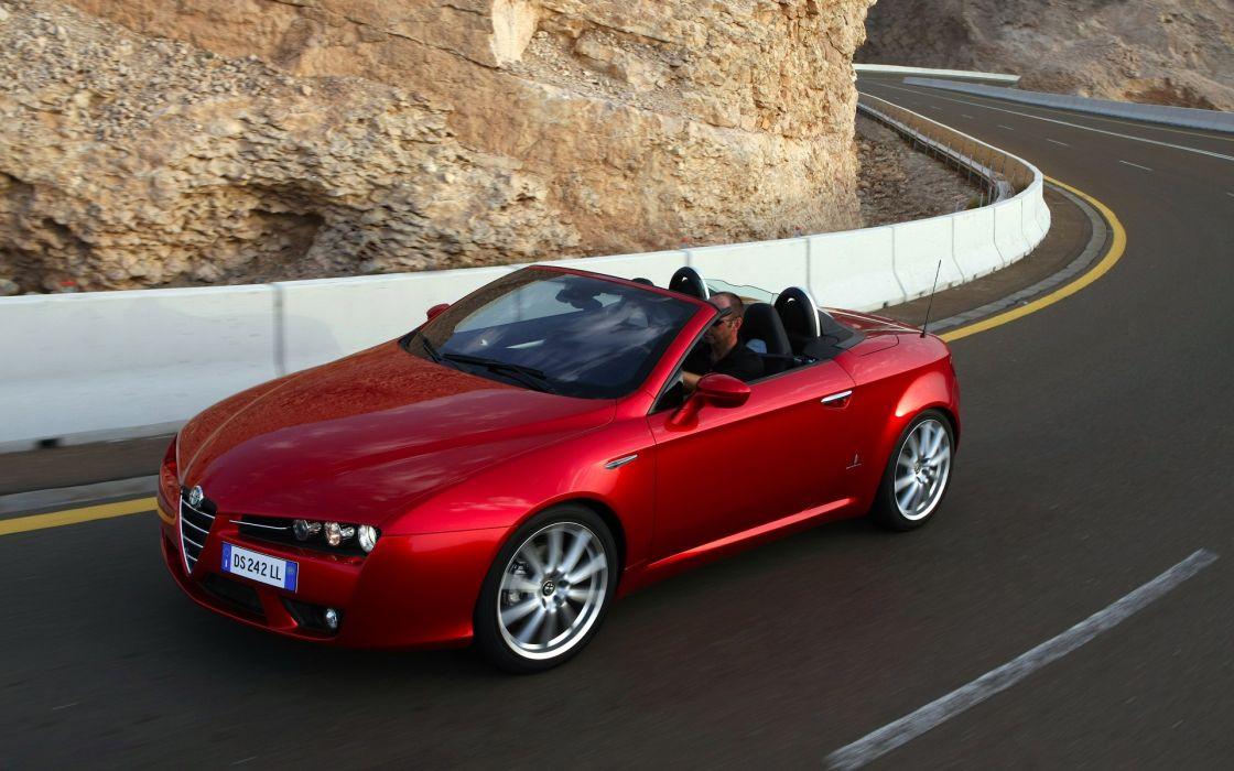 cars Alfa Romeo Alfa Romeo Spider wallpaper