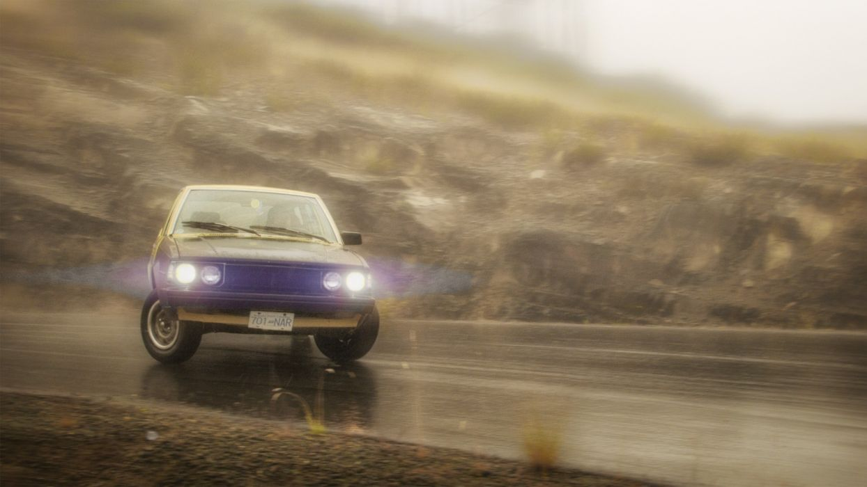 drift car road wallpaper