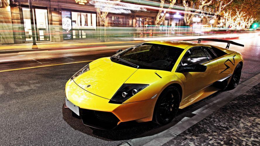 cars Lamborghini MurciAIA wallpaper