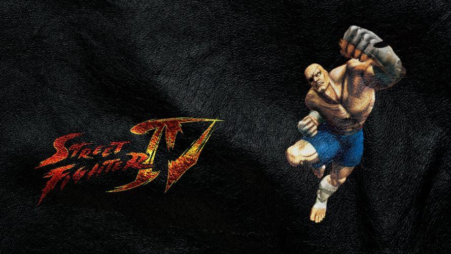 Street Fighter Sagat Street Fighter IV wallpaper