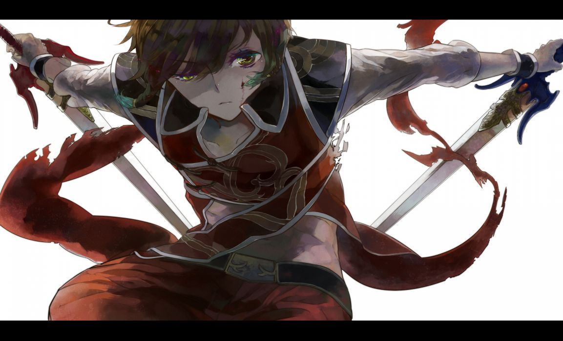 anime boys swords wallpaper