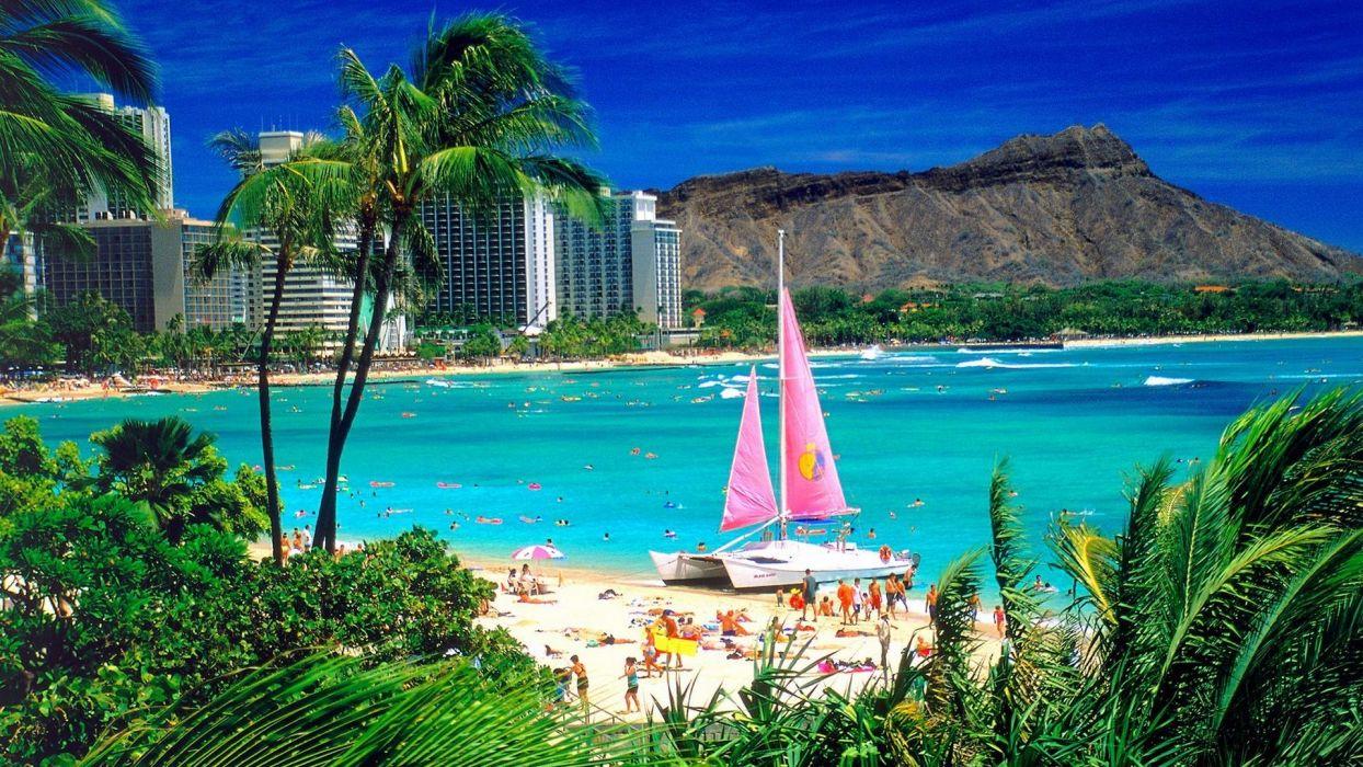 Hawaii Oahu wallpaper