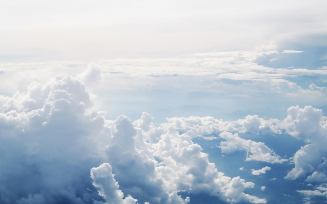 clouds skyscapes aerial photography wallpaper