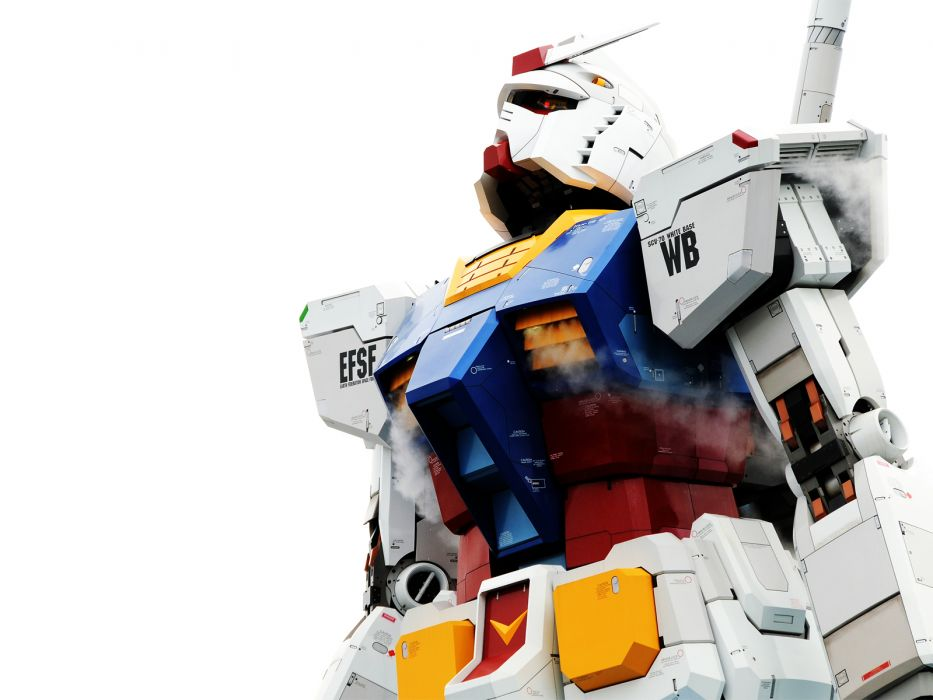Gundam white background wallpaper