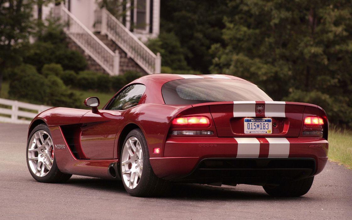 cars Dodge Viper SRT-10 widescreen wallpaper
