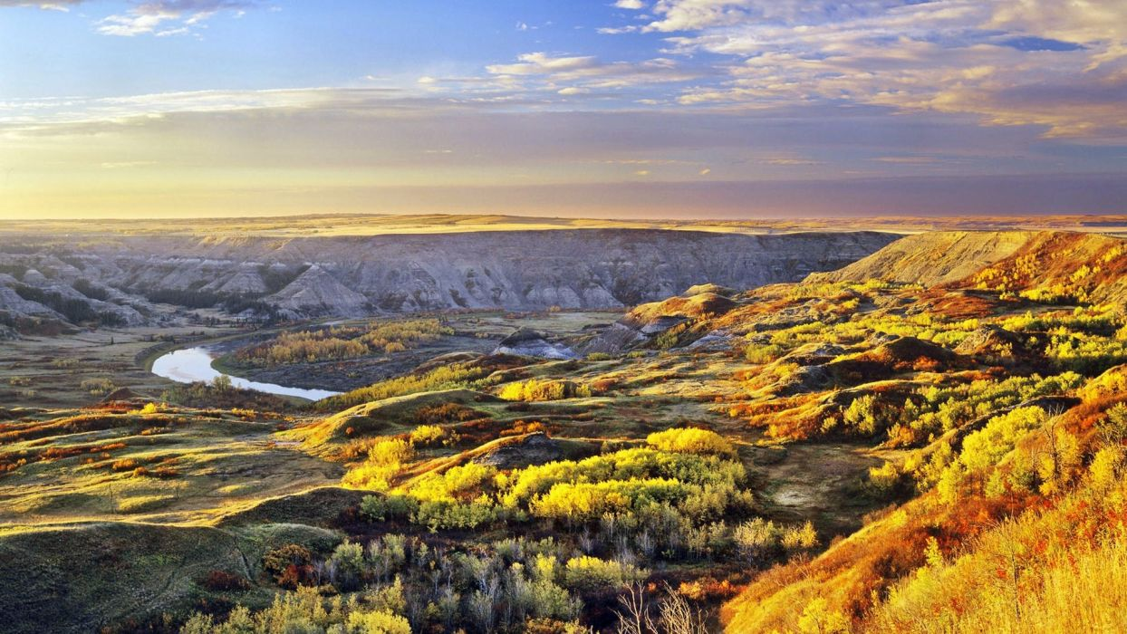landscapes nature Canada Alberta land wallpaper