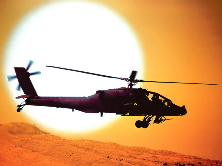 helicopters AH-64 Apache wallpaper