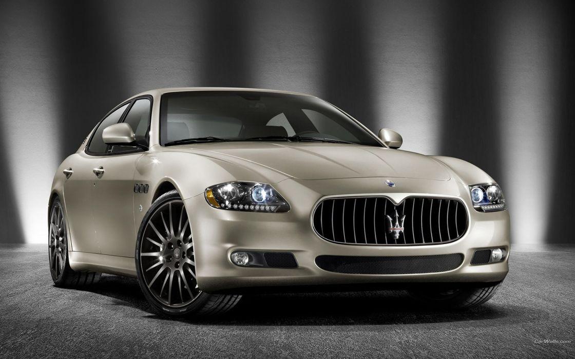 cars vehicles Maserati Quattroporte quattroporte wallpaper