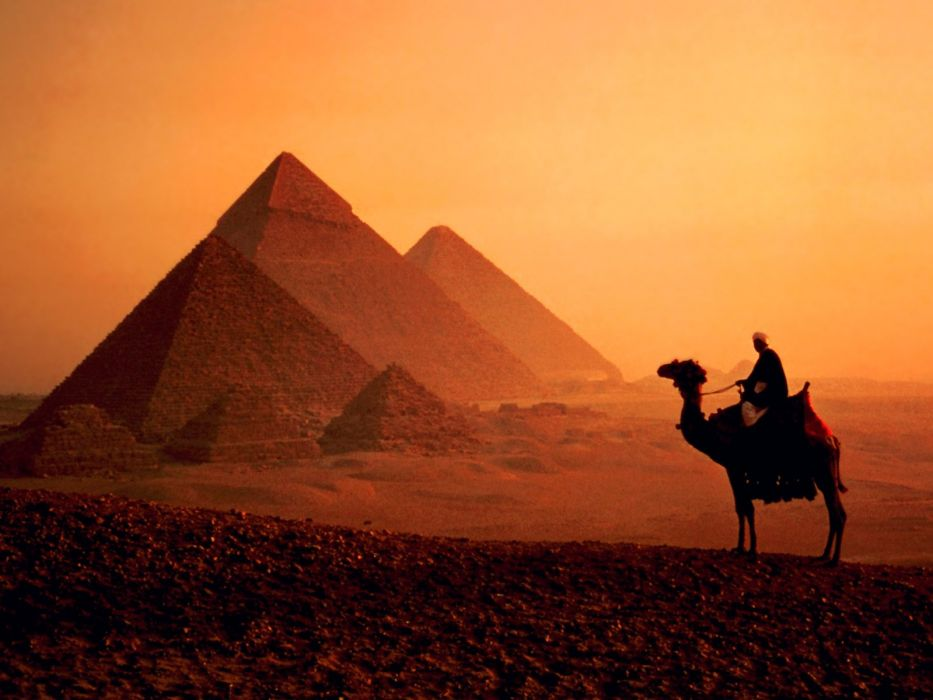 Egypt pyramids Great Pyramid of Giza wallpaper
