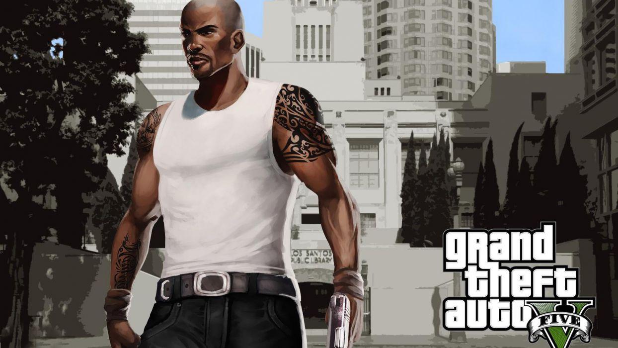 Grand Theft Auto Grand Theft Auto V Carl Johnson wallpaper