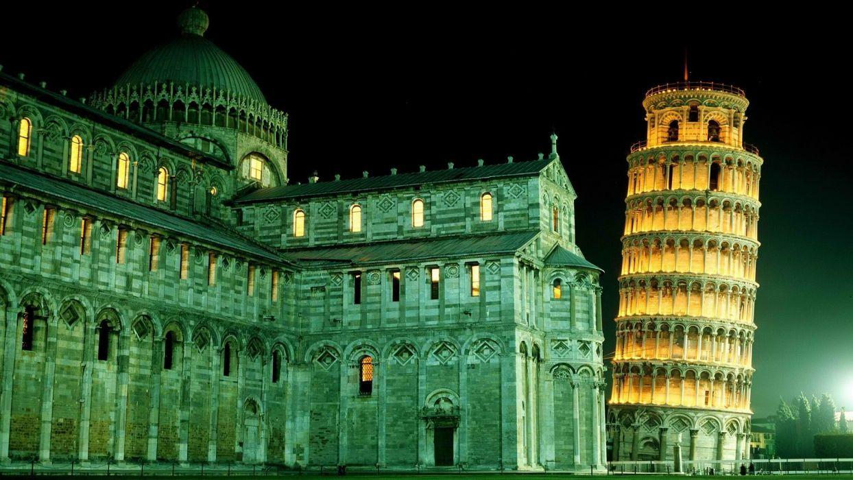 tower Pisa Italy Leaning Tower of Pisa wallpaper