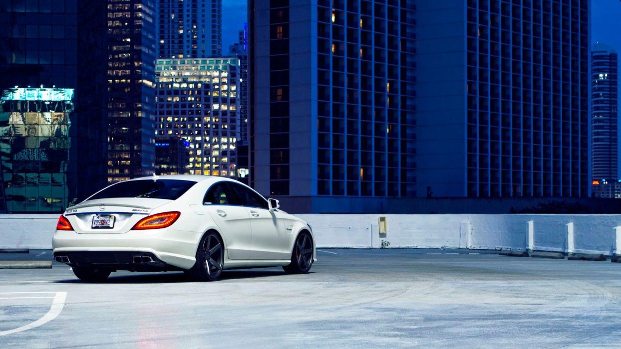 cars AMG vehicles Mercedes-Benz Mercedes Benz Cls Mercedes Benz CLS 63 AMG automobile wallpaper