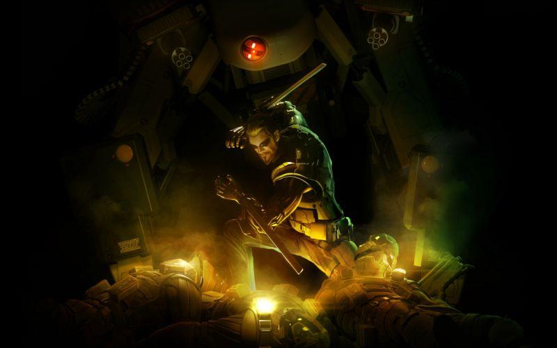 warriors Deus Ex: Human Revolution wallpaper