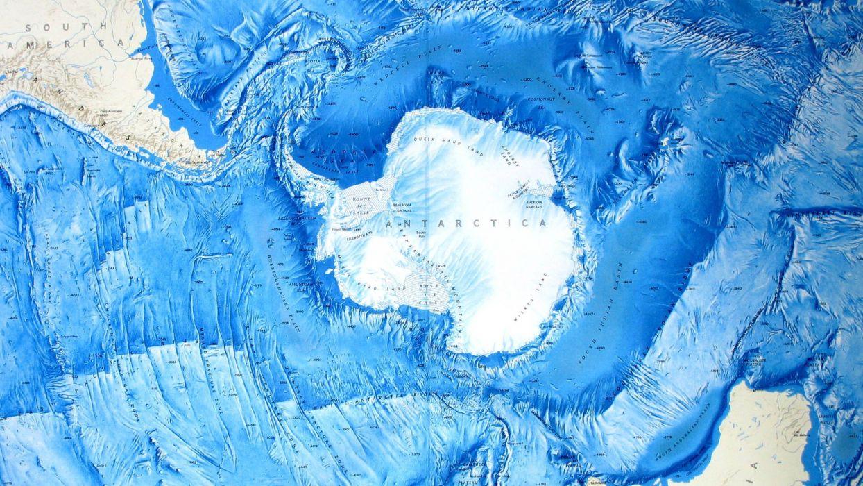 close-up ice maps Antarctica wallpaper