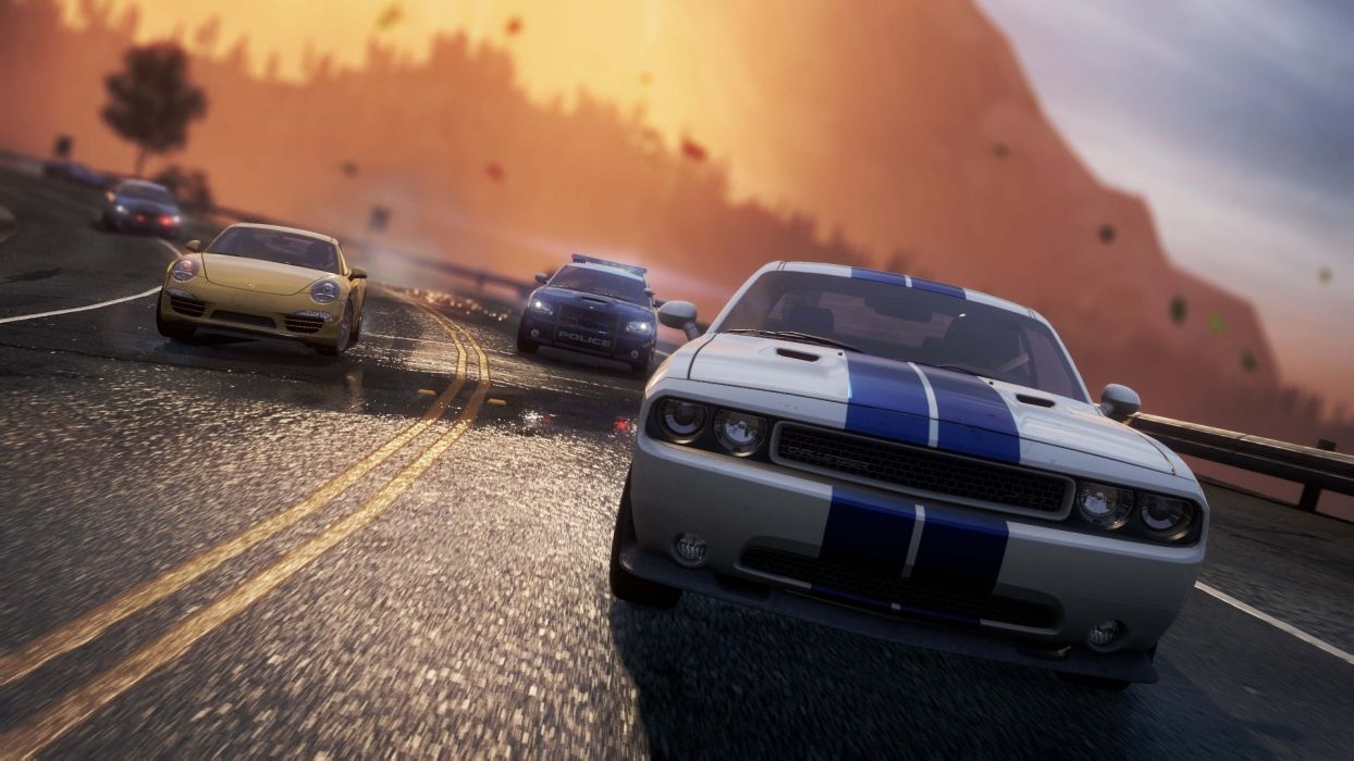 Video games cars Need for Speed Need for Speed Most Wanted