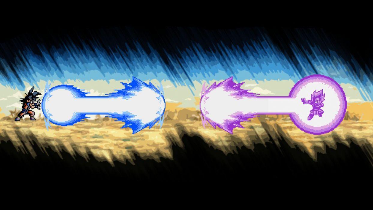 Vegeta Son Goku Dragon Ball Z goku vs vegeta Kakarotto wallpaper