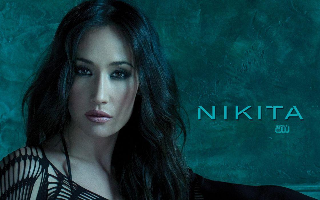 movies Asians Maggie Q Nikita wallpaper