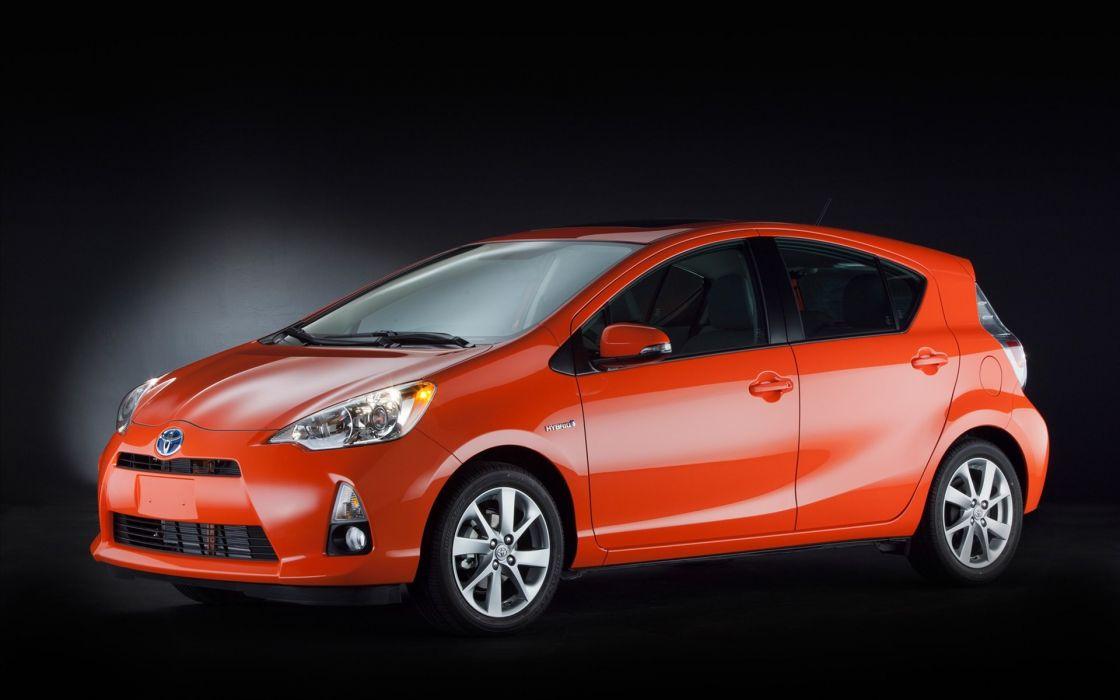 cars orange Toyota wallpaper
