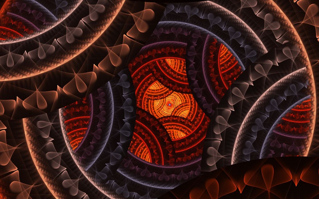 abstract fractals fractal wallpaper