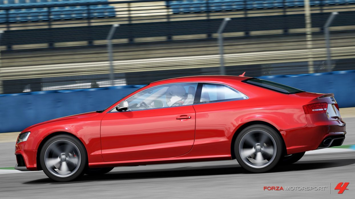 video games cars Xbox 360 Audi RS5 Forza Motorsport 4 wallpaper