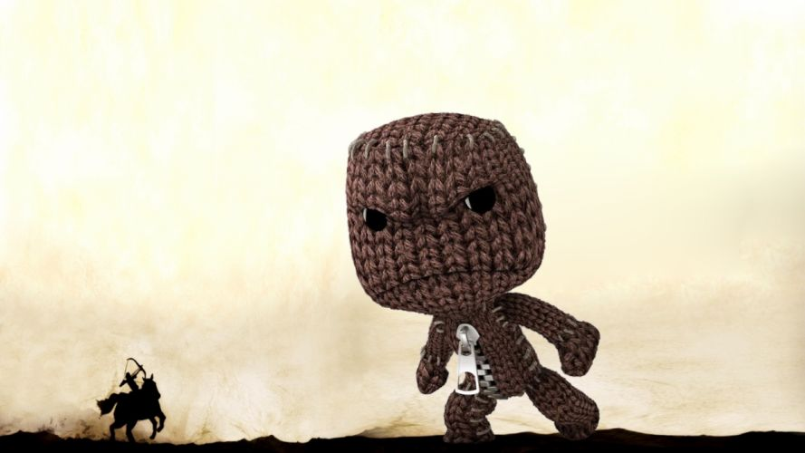 Little Big Planet Sackboy Shadow of the Colossus wallpaper